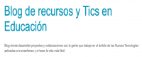 Blog de recursos y TICS en Educación